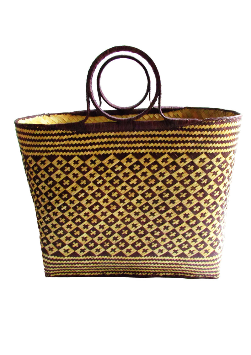 Holiday basket beach bag