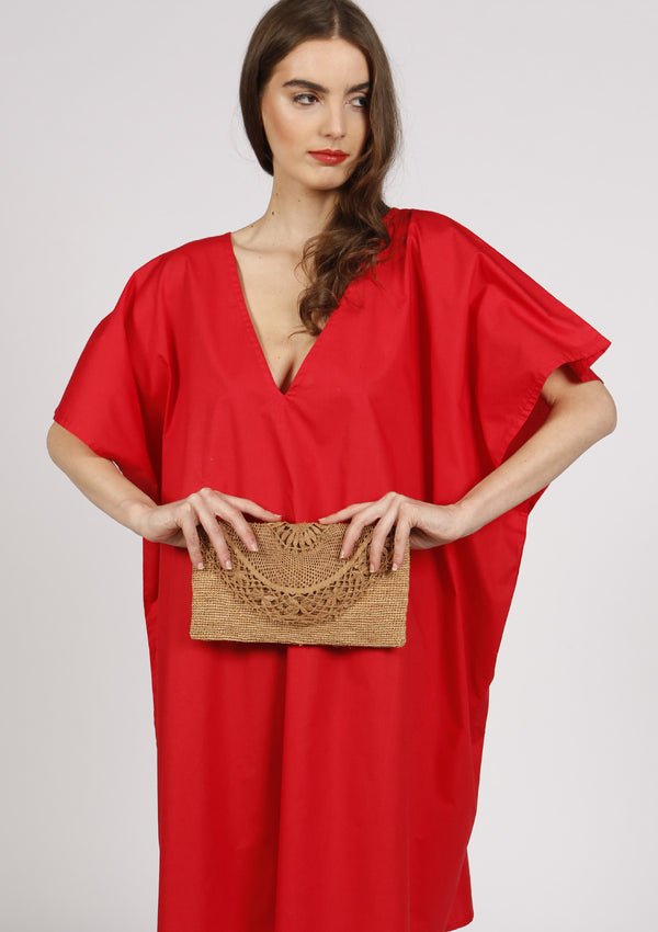 Raffia Clutch vacation ready