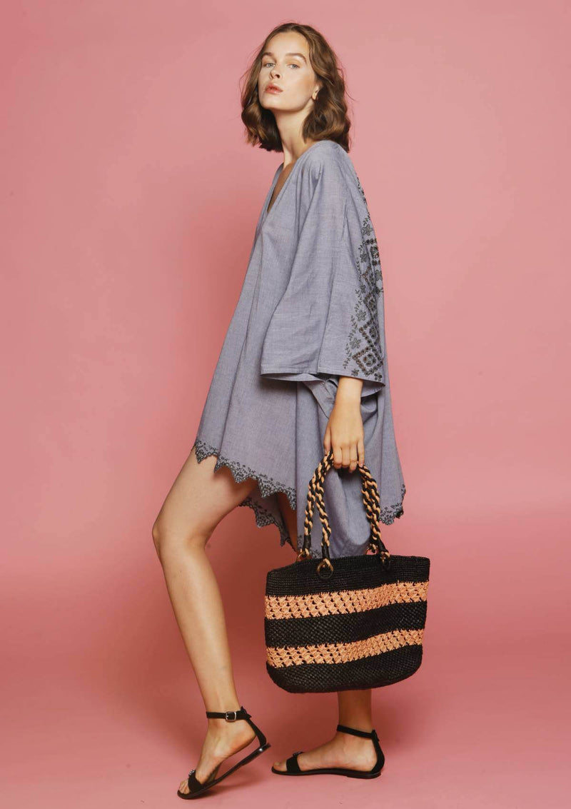 affordable designer beach bag for luxury holidays