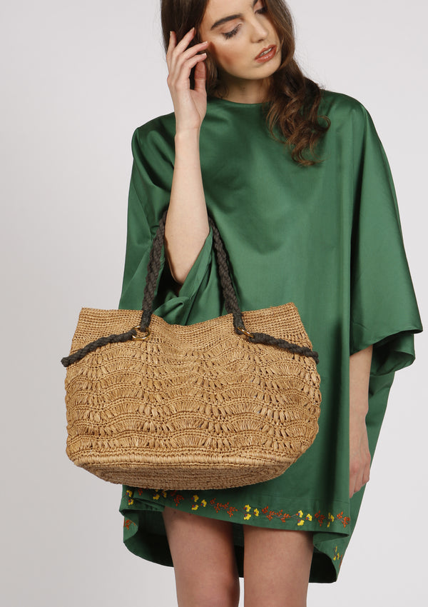 Luxury Raffia handmade Beach bag shoulder bag