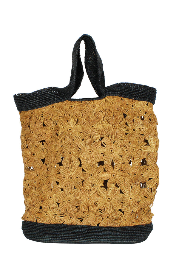 large raffia tote bag beachwear accessory