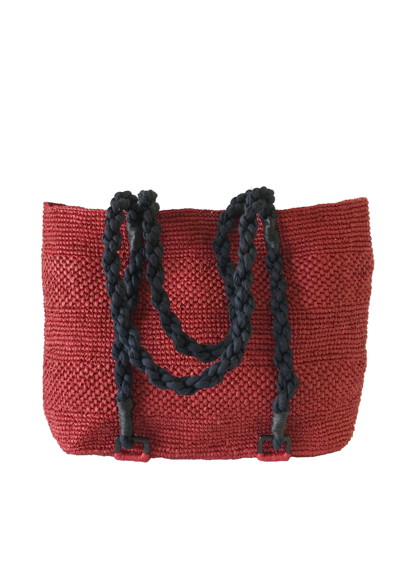 Maraina-London british brand raffia beach bag for holidays