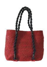 Maraina-London women beach bag raffia resortwear