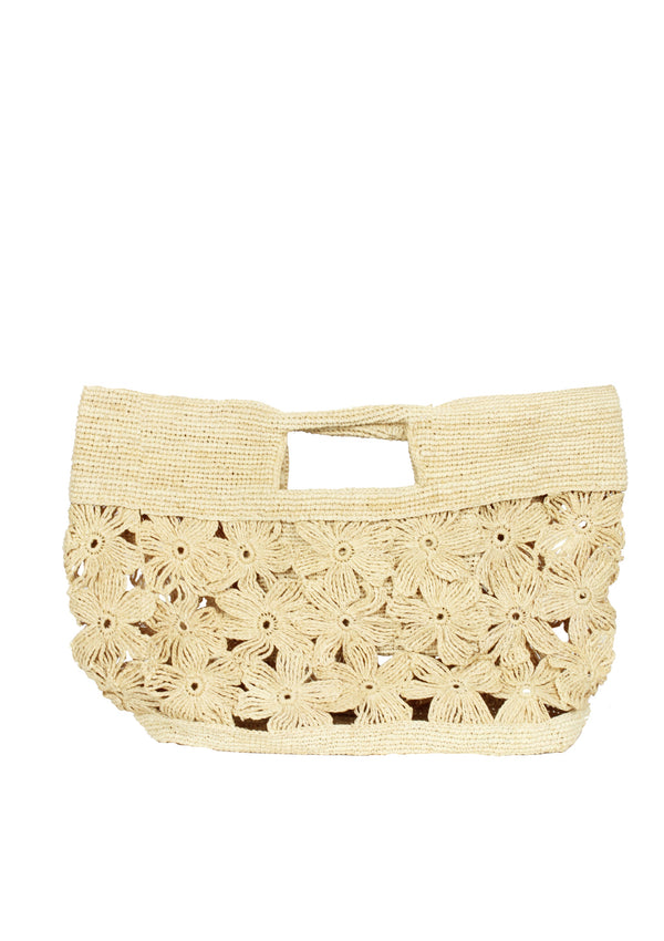 raffia tote bag beachwear accessory