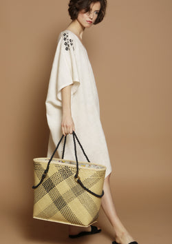 straw beach basket bag resortwear