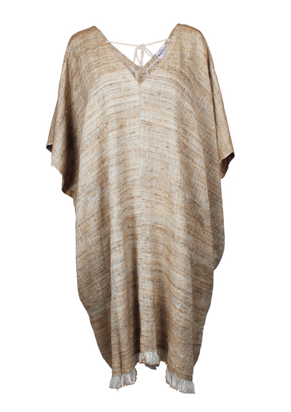 ALEXANDRA Silk Kaftan dress