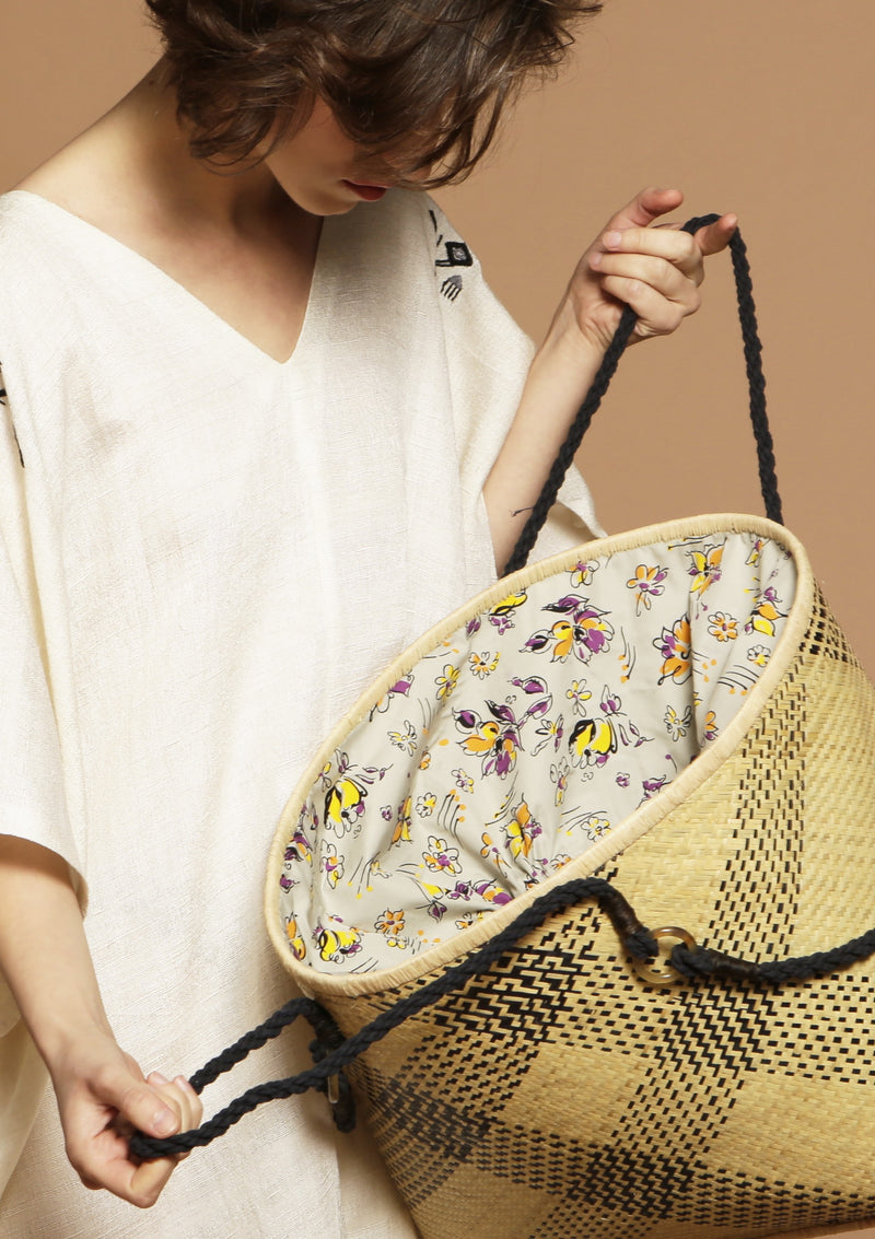 basket bag beachwear accessory