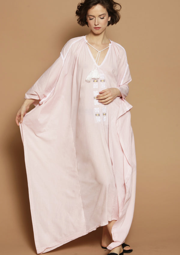 maxi kaftan dress luxury resortwear