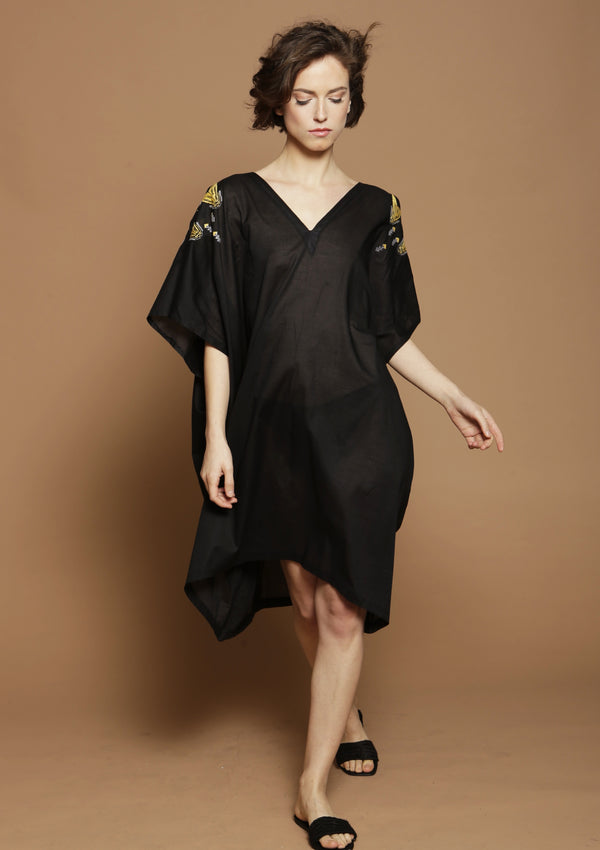 midi cover-up dress