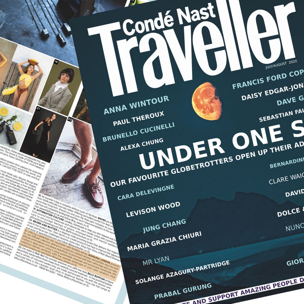 Conde Nast traveller July/August 2020