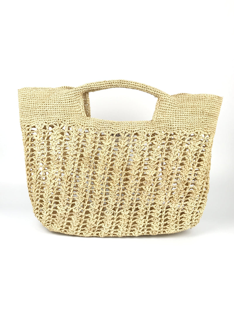 raffia high end tote bag for sale