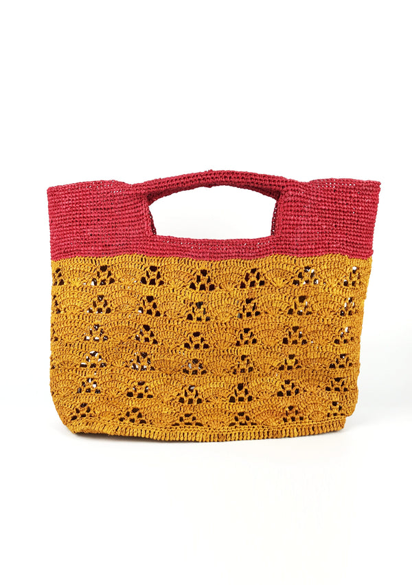 designer raffia bag beachwear