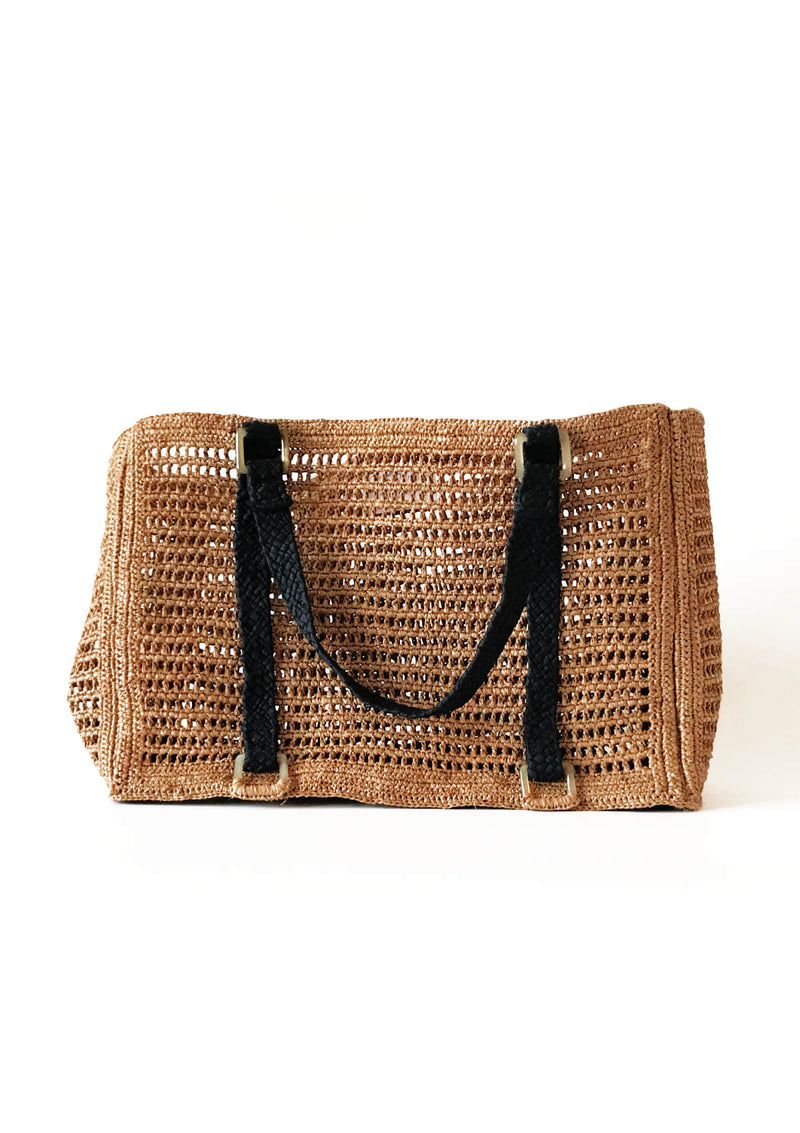 Designer net crochet beach bag to store your ipad