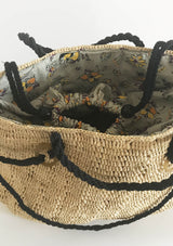 women holiday raffia beach bag