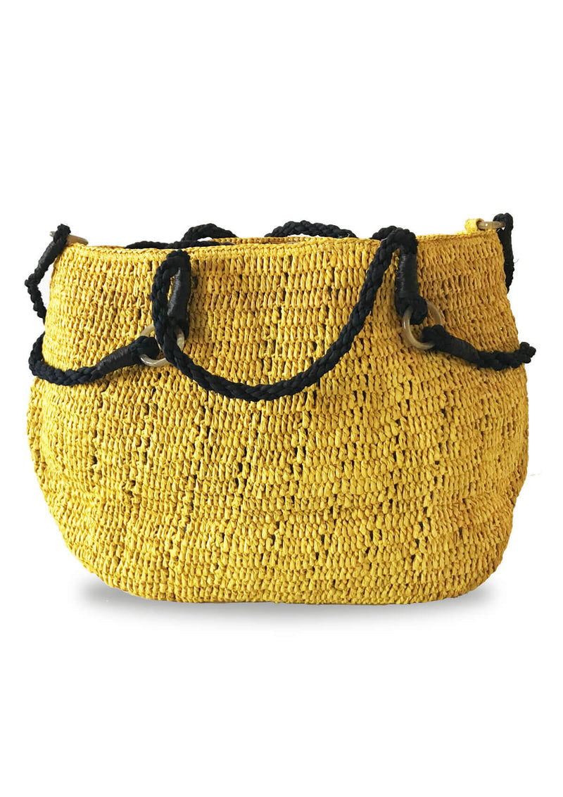 Designer large beach bag for luxury travel