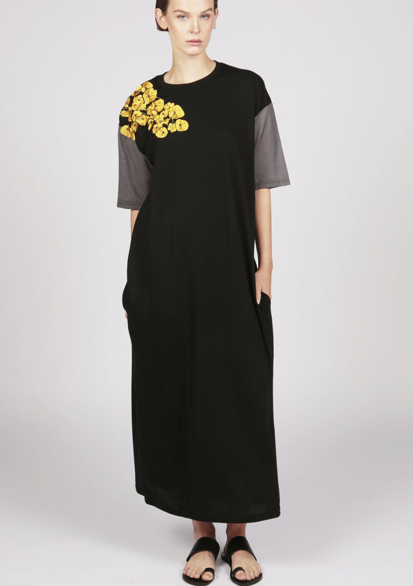 cheap designer jersey dress maxi length