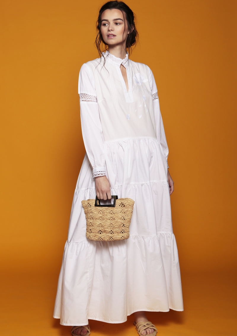 luxury beachwear accessory holiday raffia bag