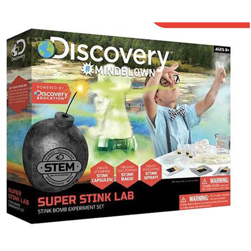 Toy Experiment KIT Super Stink Lab