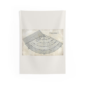 Shalandra Map Indoor Wall Tapestries