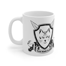 Load image into Gallery viewer, Team Demonslayer White Ceramic Mug
