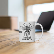 Load image into Gallery viewer, Murder Hornets Ceramic Mug