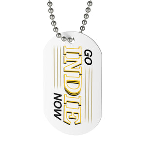 Go Indie Now Dog Tag