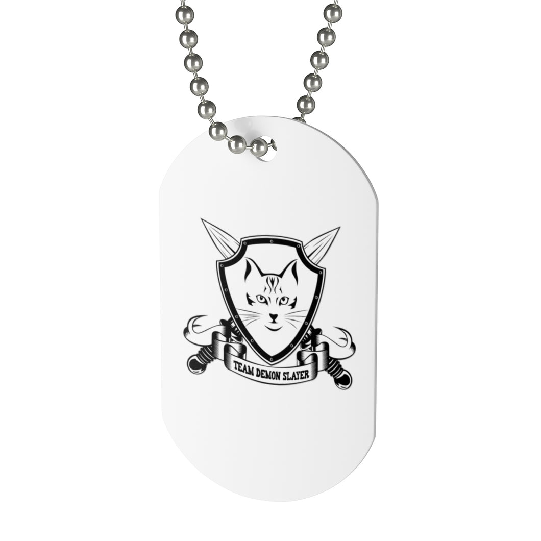 Team Demonslayer Dog Tag