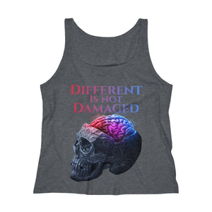 Different is not Damaged Women's Relaxed Jersey Tank Top
