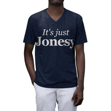 Load image into Gallery viewer, Jonesy Men's Tri-Blend V-Neck T-Shirt
