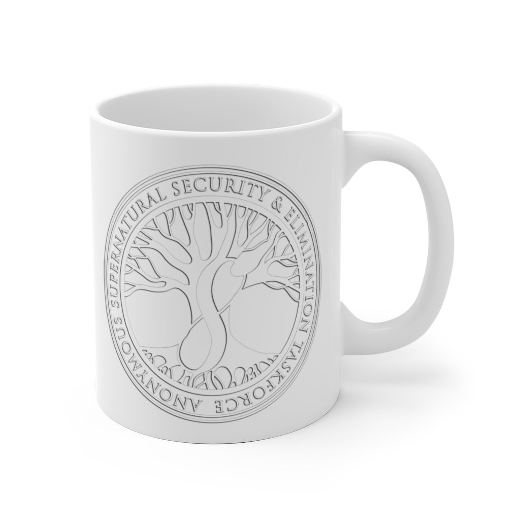 Agents of ASSET White Ceramic Mug