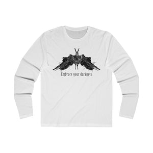 Embrace Your Darkness Men's Long Sleeve Crew Tee