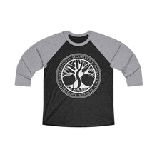 Load image into Gallery viewer, Agents of ASSET Unisex Tri-Blend 3/4 Raglan Tee