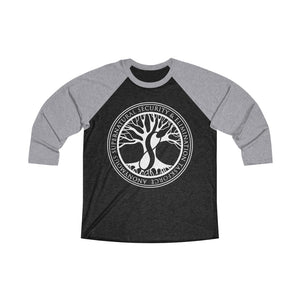 Agents of ASSET Unisex Tri-Blend 3/4 Raglan Tee