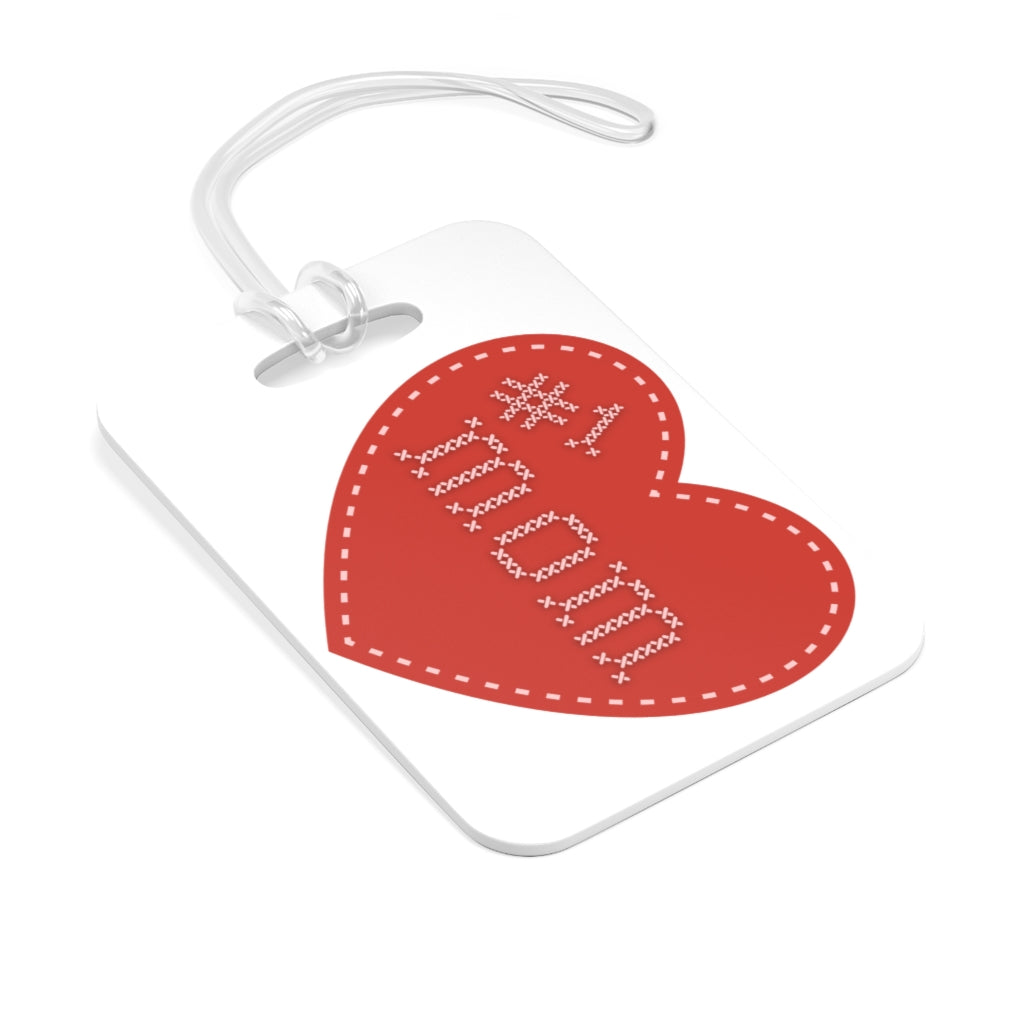 #1 Mom Bag Tag