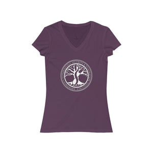 Agents of ASSET Women's Jersey Short Sleeve V-Neck Tee