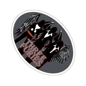 Three Furies Press Kiss-Cut Stickers