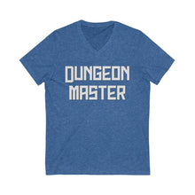 Load image into Gallery viewer, Dungeon Master Unisex Jersey Short Sleeve V-Neck Tee