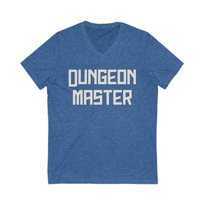 Dungeon Master Unisex Jersey Short Sleeve V-Neck Tee