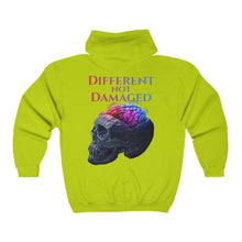 Load image into Gallery viewer, Different Not Damaged Big and Tall Unisex Heavy Blend™ Full Zip Hooded Sweatshirt