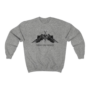 Embrace Your Darkness Unisex Heavy Blend™ Crewneck Sweatshirt