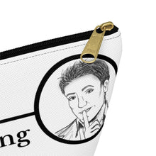 Load image into Gallery viewer, Art of Lying Accessory Pouch w T-bottom