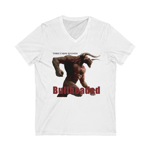 Bullheaded Unisex Jersey Short Sleeve V-Neck Tee