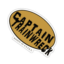 Load image into Gallery viewer, Captain Trainwreck Kiss-Cut Stickers