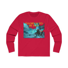 Load image into Gallery viewer, Fight for Glory! Men's Long Sleeve Crew Tee