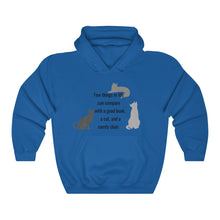 Load image into Gallery viewer, Cats and Books Unisex Heavy Blend™ Hooded Sweatshirt