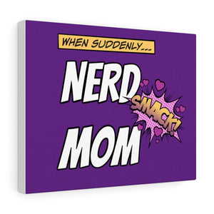 Nerd Mom Wall Art