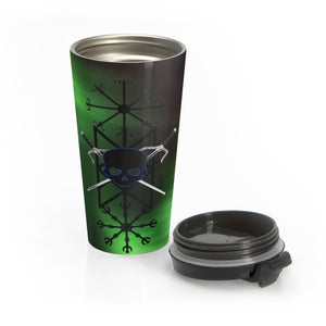 Tattoos His Stainless Steel Travel Mug