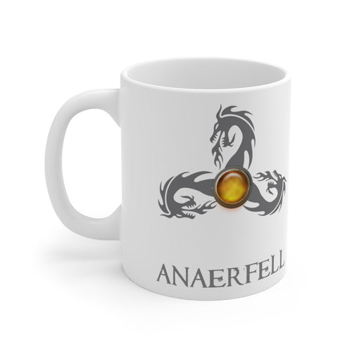 Anaerfell White Ceramic Mug