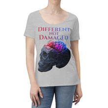 Load image into Gallery viewer, Different not Damaged Women's Scoop Neck T-shirt
