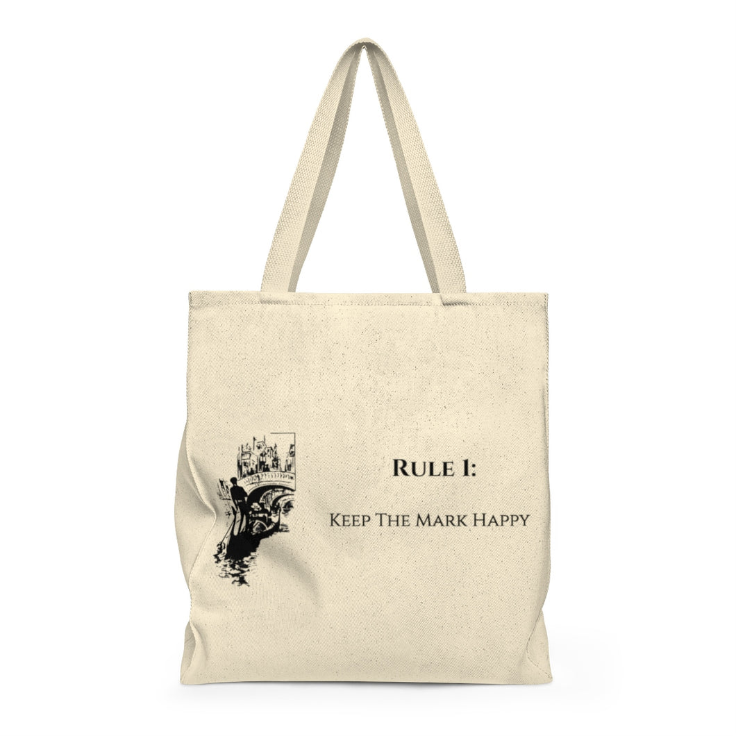 Art of Lying Shoulder Tote Bag - Roomy